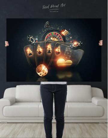 Casino Decor Canvas Wall Art - image 9