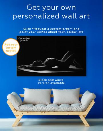 Women Seductive Pose Canvas Wall Art - image 1
