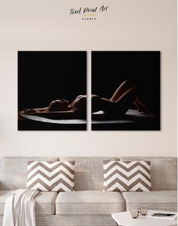 Women Seductive Pose Canvas Wall Art - image 10