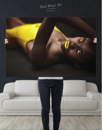 Beautiful Sensual African Woman Canvas Wall Art - image 10