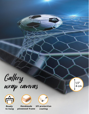 Soccer Goal Canvas Wall Art - image 7