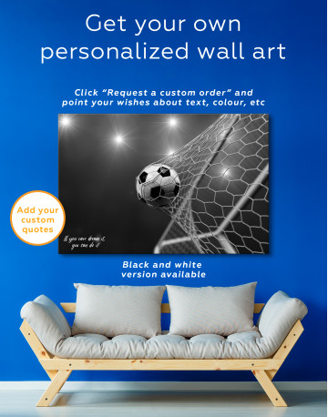 Soccer Goal Canvas Wall Art - image 6