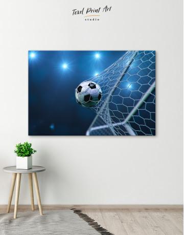 Soccer Goal Canvas Wall Art - image 5
