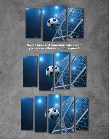 Soccer Goal Canvas Wall Art - image 4