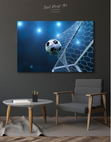 Soccer Goal Canvas Wall Art - image 3