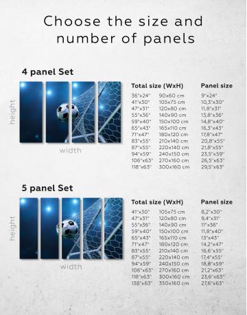 Soccer Goal Canvas Wall Art - image 9