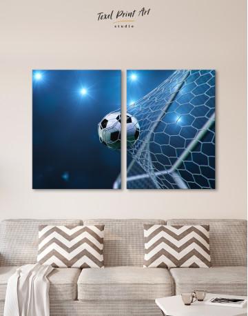 Soccer Goal Canvas Wall Art - image 10