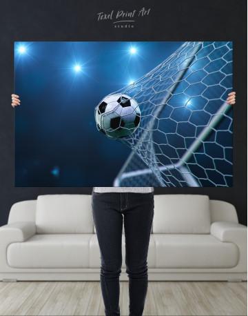 Soccer Goal Canvas Wall Art - image 8