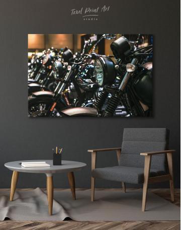 Harley Motorcycles Canvas Wall Art - image 3