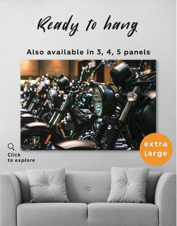 Harley Motorcycles Canvas Wall Art - image 2