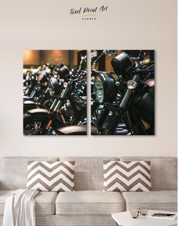 Harley Motorcycles Canvas Wall Art - image 9