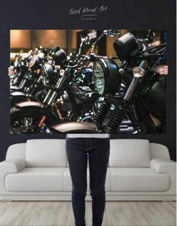 Harley Motorcycles Canvas Wall Art - image 8
