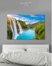 Huangguoshu Waterfall Canvas Wall Art