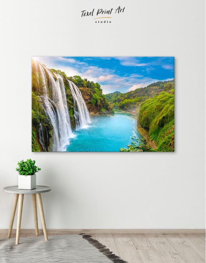 Huangguoshu Waterfall Canvas Wall Art - Image 6
