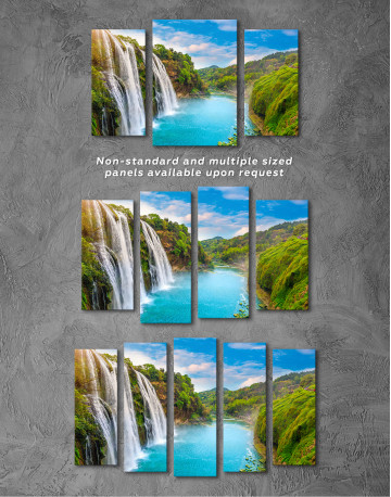 Huangguoshu Waterfall Canvas Wall Art - image 3