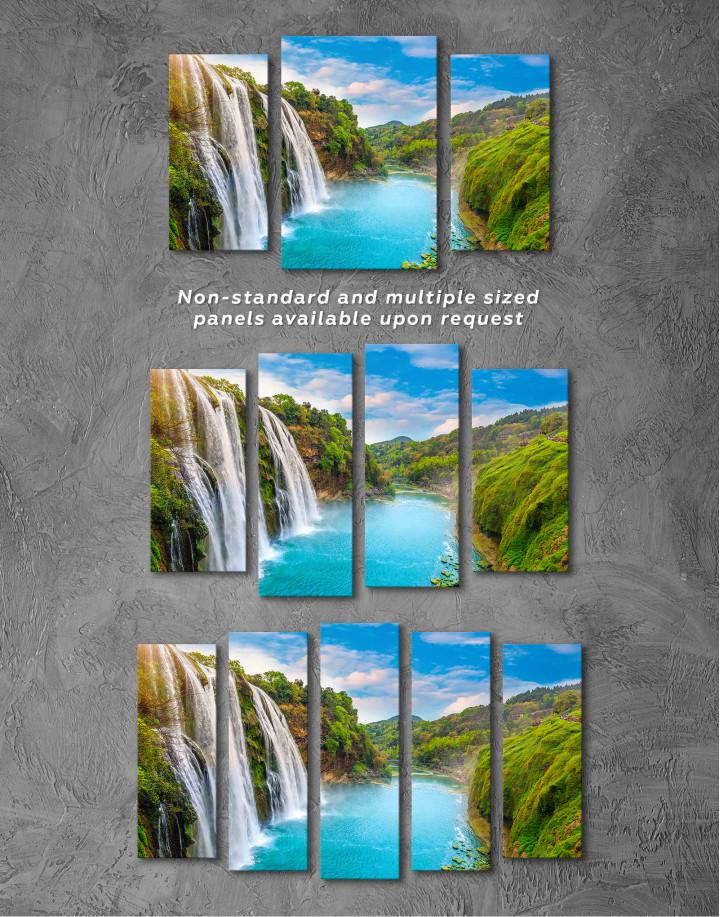 Huangguoshu Waterfall Canvas Wall Art - Image 5