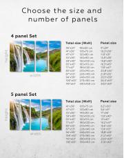Huangguoshu Waterfall Canvas Wall Art - Image 1