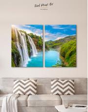 Huangguoshu Waterfall Canvas Wall Art - Image 10