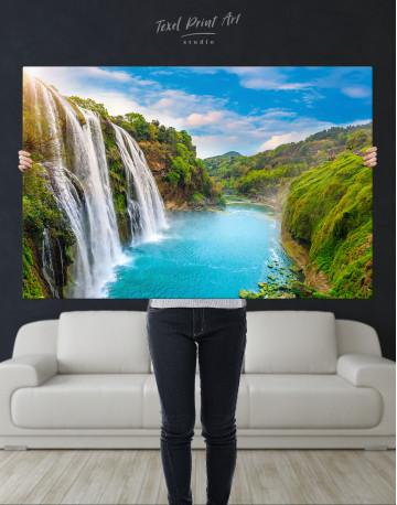 Huangguoshu Waterfall Canvas Wall Art - image 9
