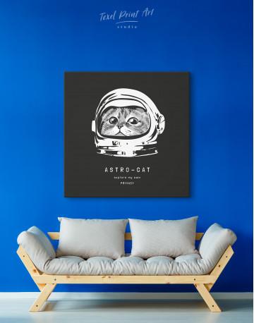 Astro Cat Canvas Wall Art - image 4