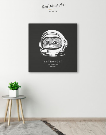 Astro Cat Canvas Wall Art - image 5