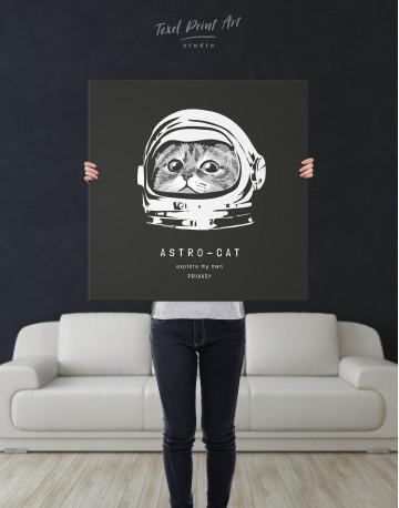 Astro Cat Canvas Wall Art - image 6