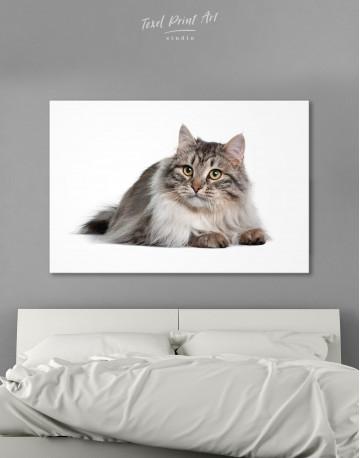 Siberian Cat Canvas Wall Art - image 8
