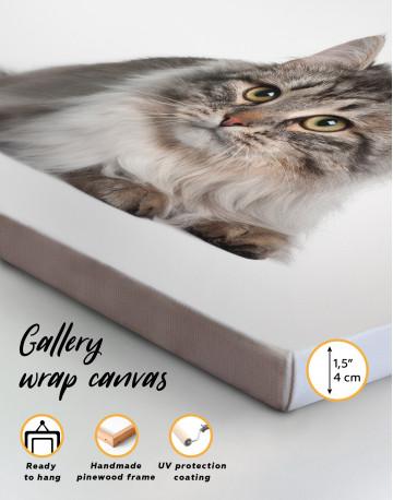 Siberian Cat Canvas Wall Art - image 6