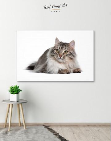 Siberian Cat Canvas Wall Art - image 5
