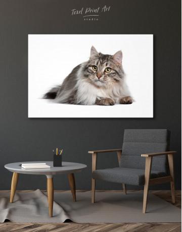 Siberian Cat Canvas Wall Art - image 2