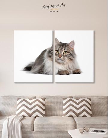 Siberian Cat Canvas Wall Art - image 10