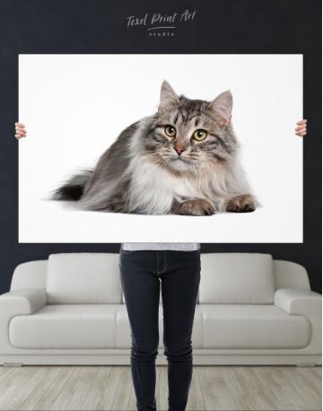 Siberian Cat Canvas Wall Art - image 9