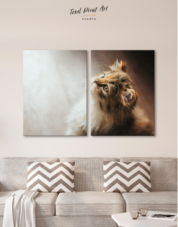 Little Calico Cat Canvas Wall Art - image 9