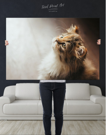 Little Calico Cat Canvas Wall Art - image 10