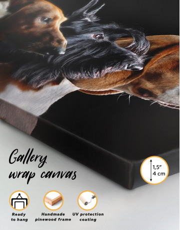 Group Photo of Dogs Canvas Wall Art - image 8