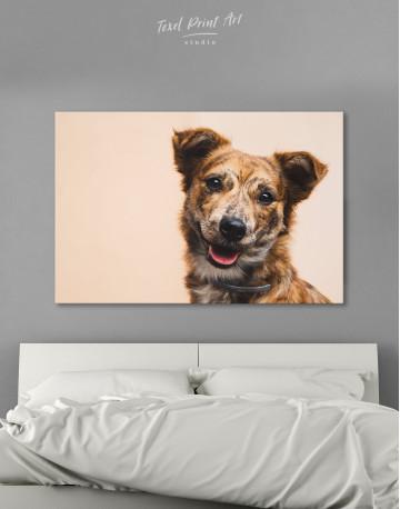 Pretty Dog Canvas Wall Art