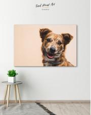 Pretty Dog Canvas Wall Art - Image 5
