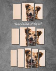 Pretty Dog Canvas Wall Art - Image 9