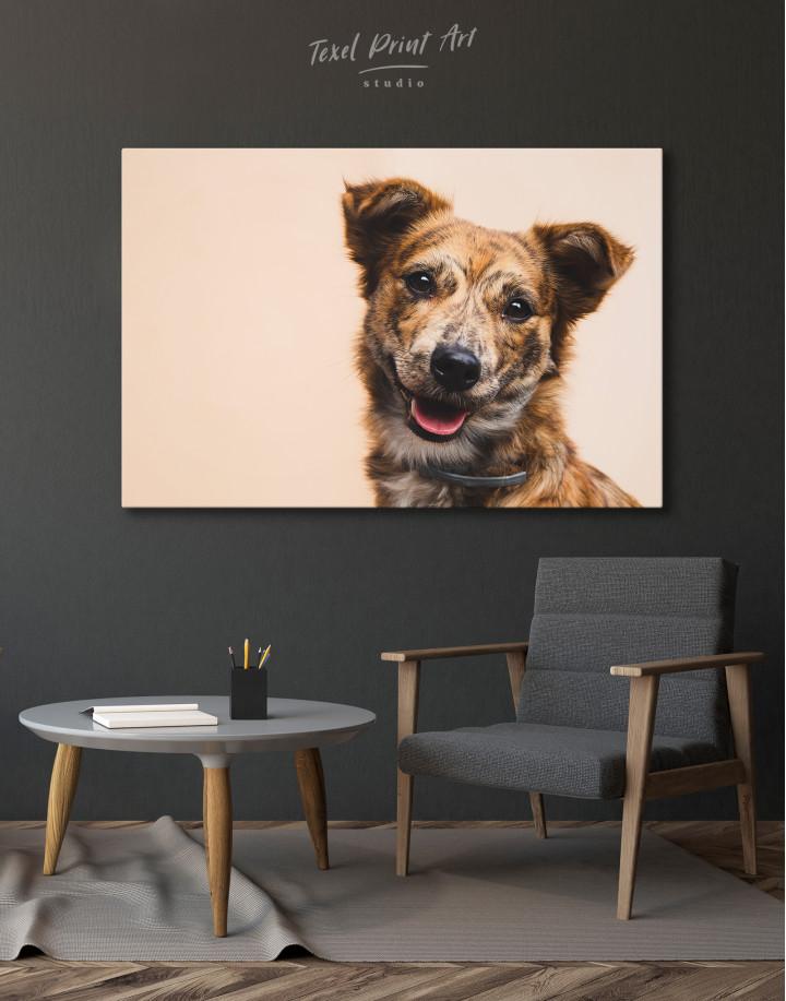 Pretty Dog Canvas Wall Art - Image 7