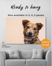 Pretty Dog Canvas Wall Art - Image 6