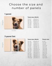 Pretty Dog Canvas Wall Art - Image 10