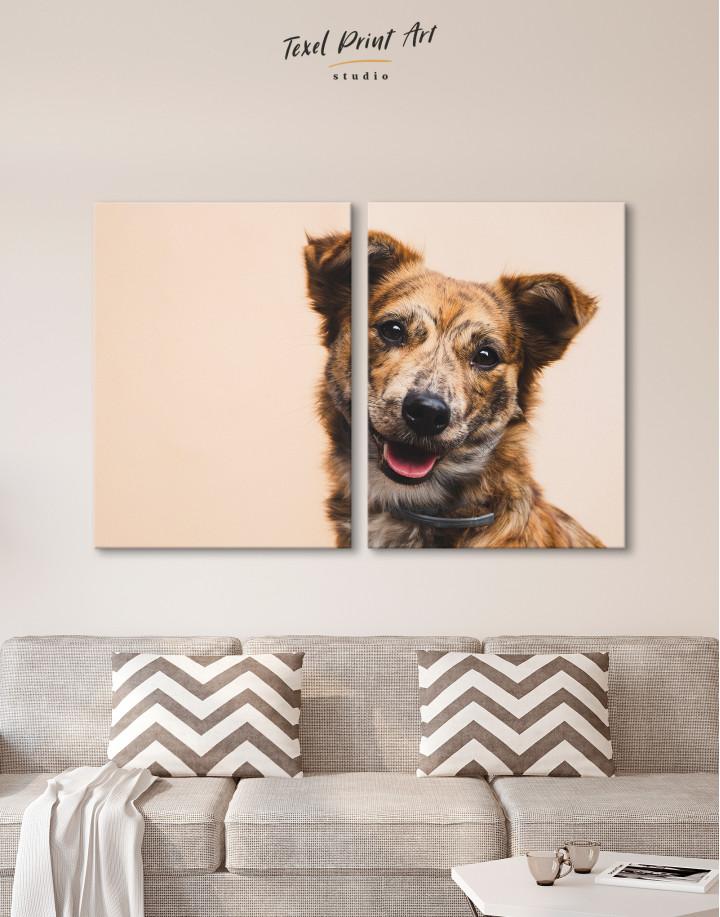 Pretty Dog Canvas Wall Art - Image 8