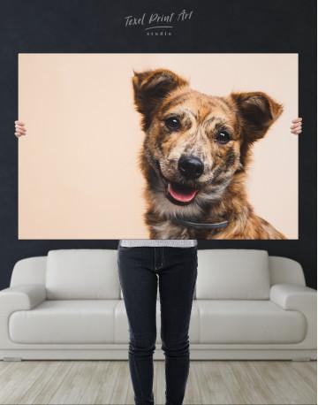 Pretty Dog Canvas Wall Art - image 3