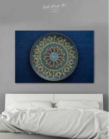 Dot Mandala Canvas Wall Art