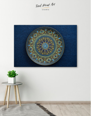Dot Mandala Canvas Wall Art - image 4