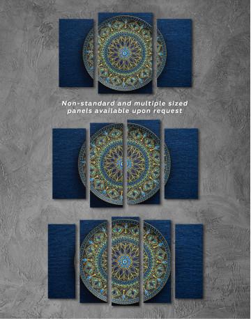Dot Mandala Canvas Wall Art - image 5