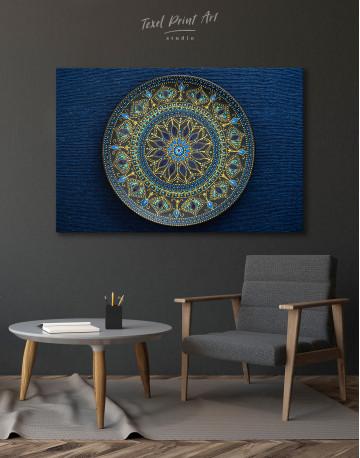 Dot Mandala Canvas Wall Art - image 6