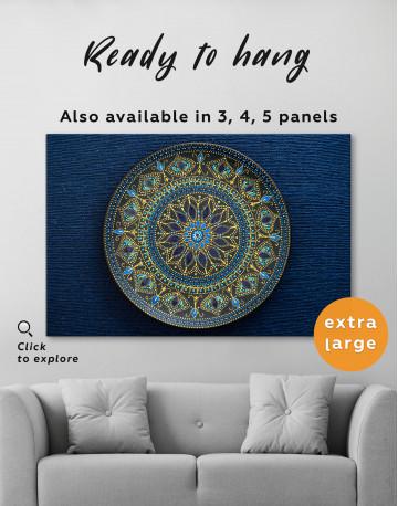Dot Mandala Canvas Wall Art - image 7