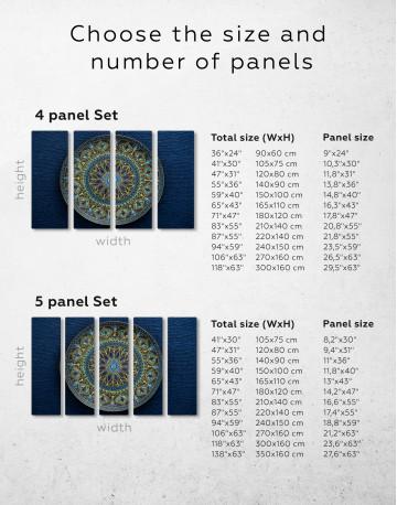 Dot Mandala Canvas Wall Art - image 9