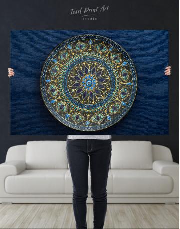 Dot Mandala Canvas Wall Art - image 10